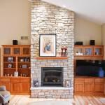 Built Ins Around Fireplace Houzz