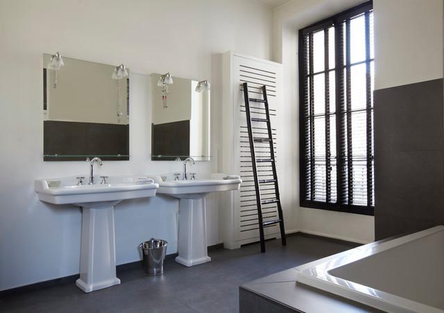 Appartement Parisien The Bathroom Contemporain Salle