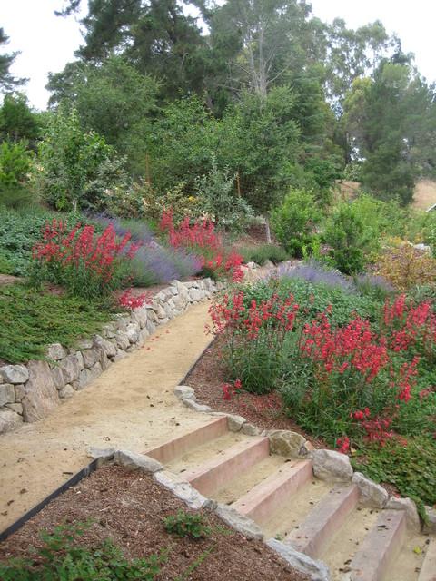 Decomposed Granite Path Through Hillside Garden Modern Landscape San Francisco By Calvin
