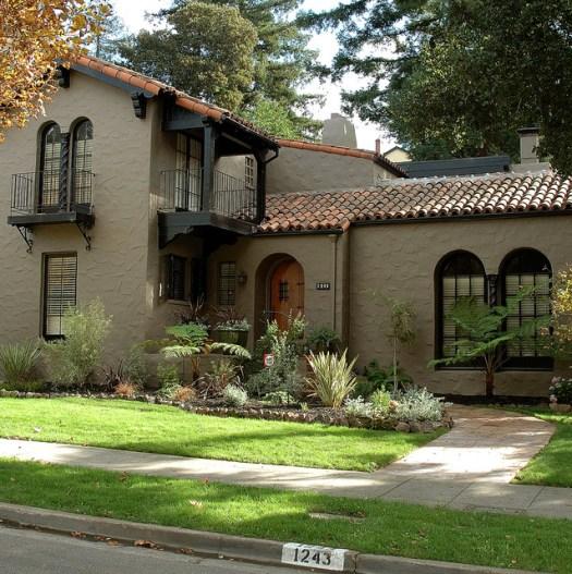 Exterior House Color Mediterranean