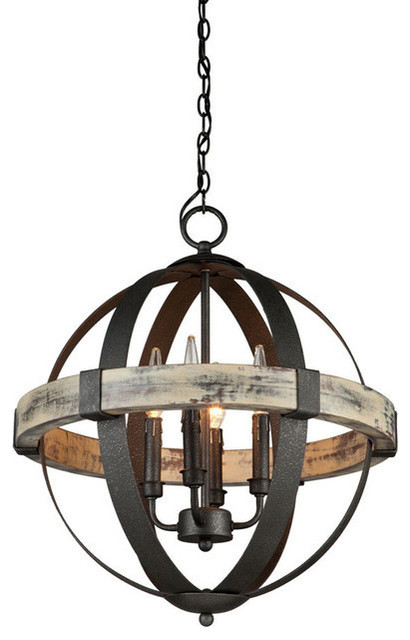 Lovely Rustic Chandeliers By Whoselamp