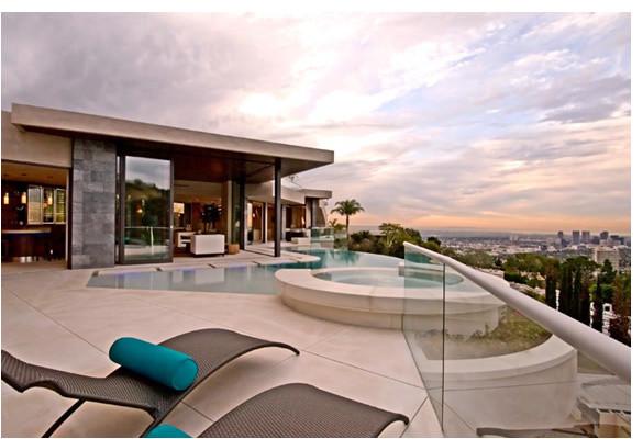 Cabanas modern-patio