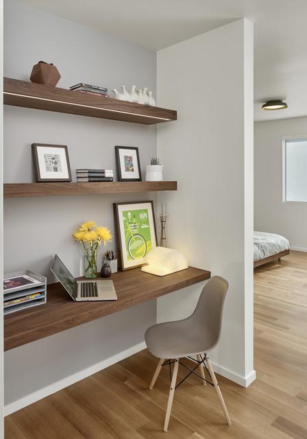 Oakland Modern midcentury-home-office