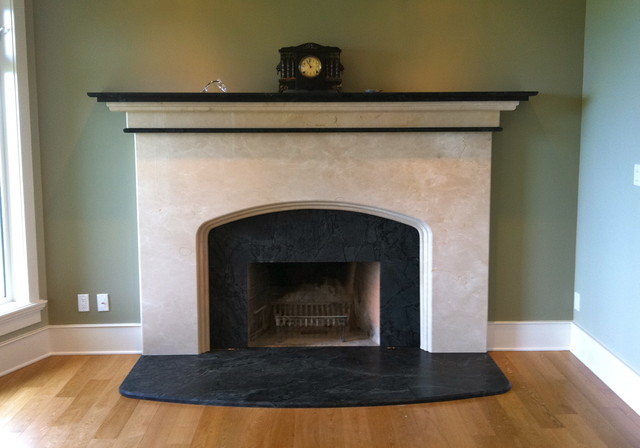 Fireplaces Traditional Living Room Vancouver By