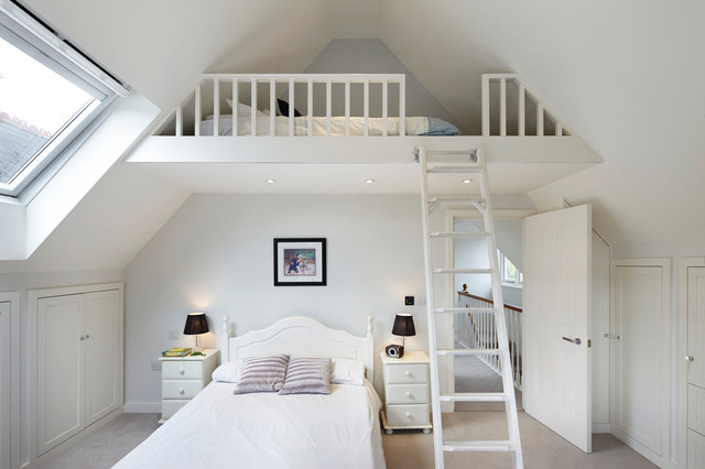 attic bedroom | houzz