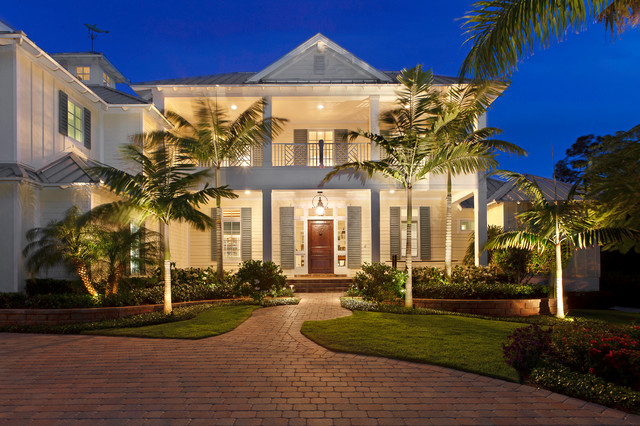 Front Elevation Tropical Exterior Miami By Weber