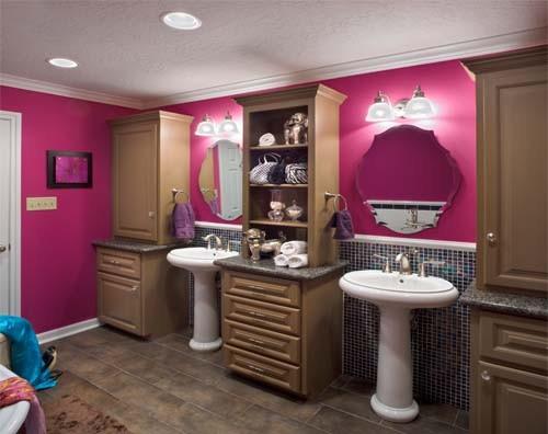 Teens Pink Bathroom