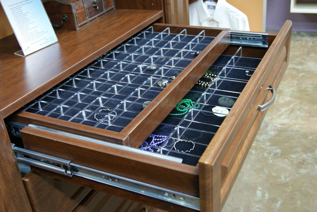 Double Jewelry Drawer Closet Houston By SpaceMan