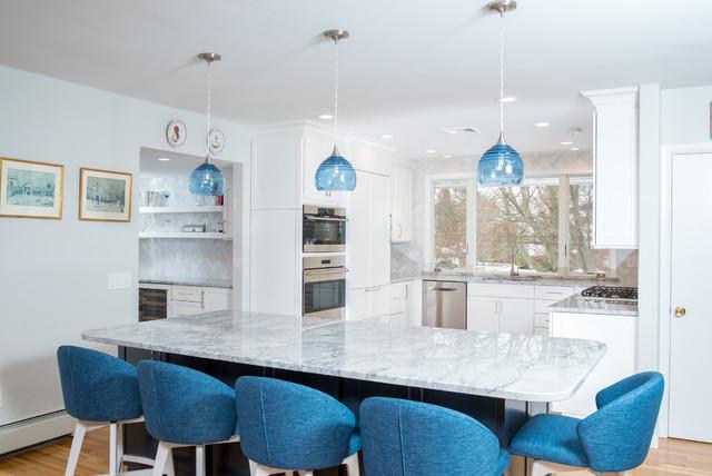 East Greenwich, Rhode Island Kitchen transitional-kitchen
