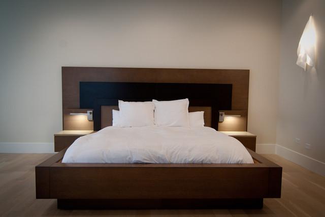 Custom Built Master Bed Frame