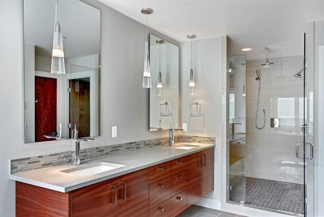 bathroom backsplash | houzz