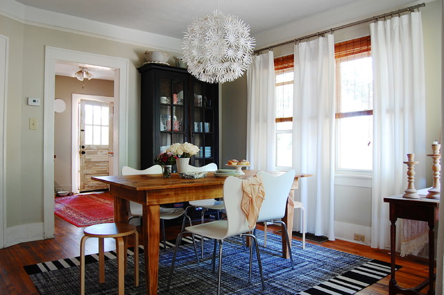 My Houzz: Scandinavian Style Inspires a Bungalow's New Look eclectic-dining-room
