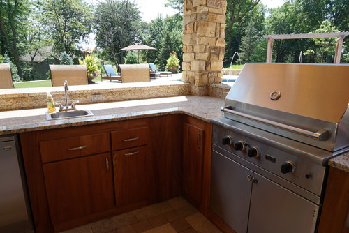 how to winterize outdoor kitchen sink