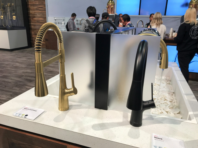the latest trends in kitchen faucets at
