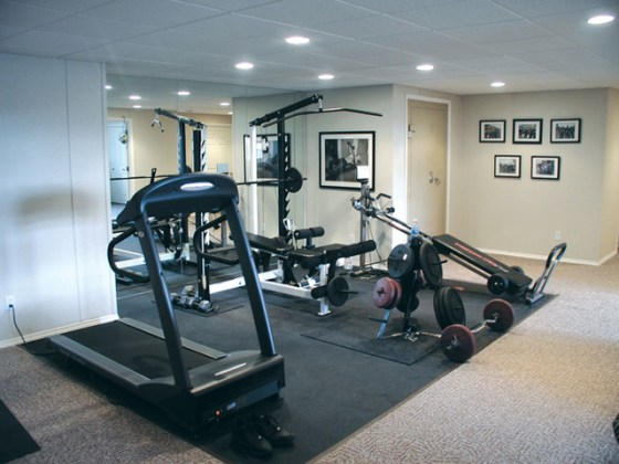 9 Tips to Turn Your Basement Into a Gym Powerhouse Contemporary Home Gym by Total Basement Finishing