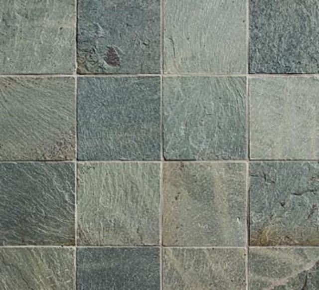 6x6 beijing green slate tumbled