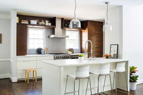 Transitional Kitchen By Decatur Architects Building Designers Terracotta Design Build