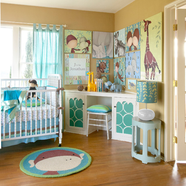 Jungle Theme Nursery Decor
