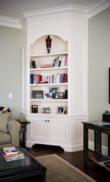 Painted Corner Cabinet Living Room Charleston By