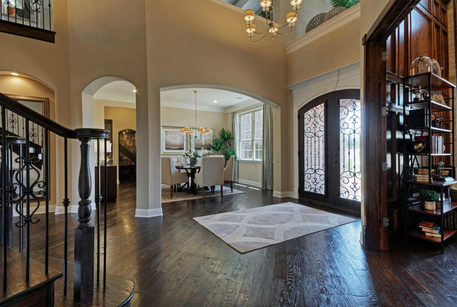 Toll Brothers Plano TX Model Contemporary Entry