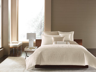 Hotel Collection Woven Texture Bedding Collection Contemporary Bedroom New York By Hotel