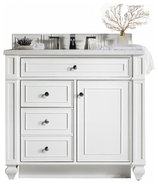 https www houzz com products 36 inch single sink bathroom vanity bright white quartz top transitional prvw vr 163833240
