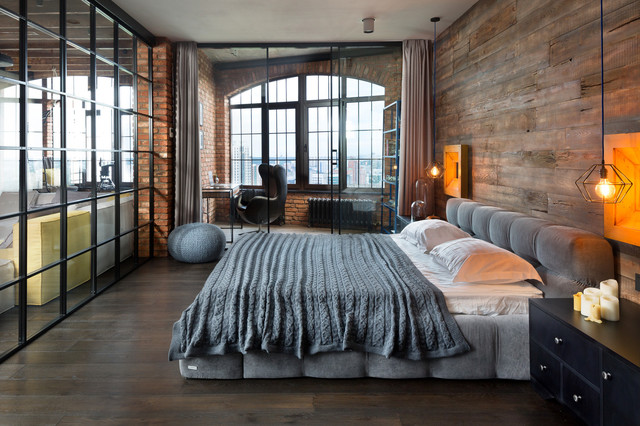 Loft is Loft industrial-bedroom