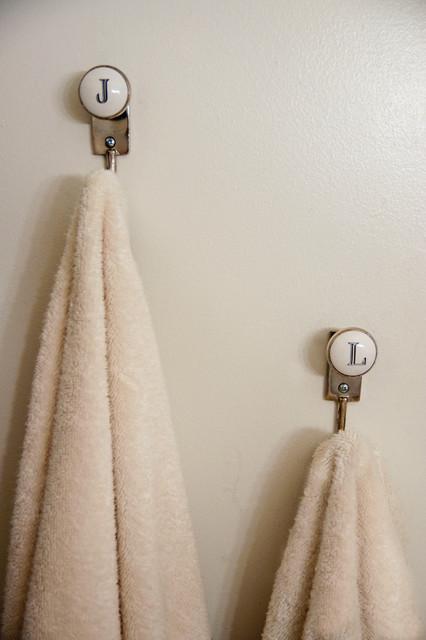 Initials Towel Hooks