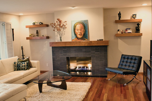 Clairemont Remodel Modern Living Room San Diego By