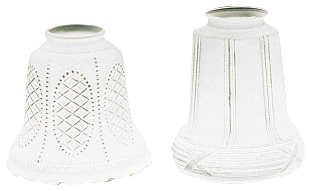 Lamp Shade Frosted Glass 5 1 16 2 4 Er Traditional