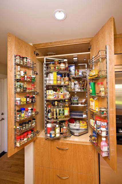 kitchen pantry - contemporary - kitchen - san francisco -bill