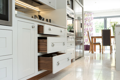 Cornforth White Shaker Kitchen