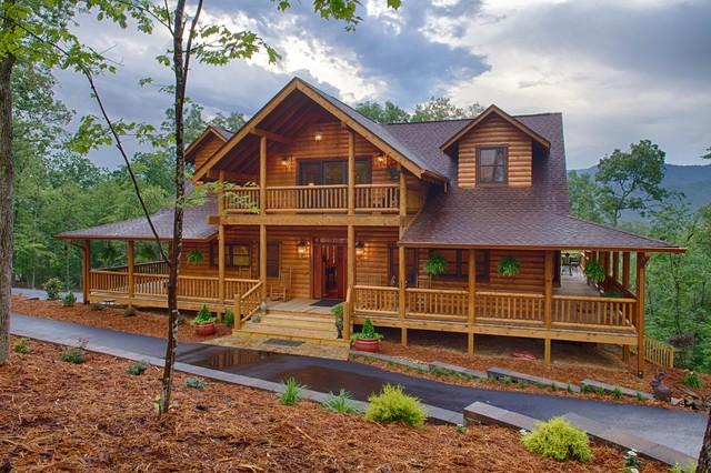 Mountain Laurel Ellijay GA Rustic Exterior