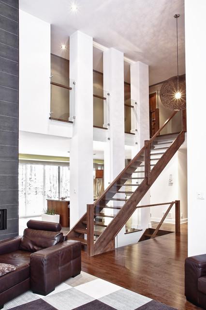 Model House And Custom Built Modern Living Room