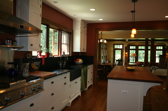Bungalow Renovation And Addition Traditional Kitchen