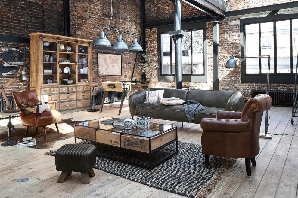 Industrial Style Maisons Du Monde Industrial Living Room London By Maisons Du Monde Uk