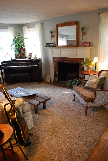 Living Room Music Room With Piano Amp Ivory Sheers