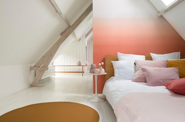 Coral burst bedroom scandinavo-camera-da-letto