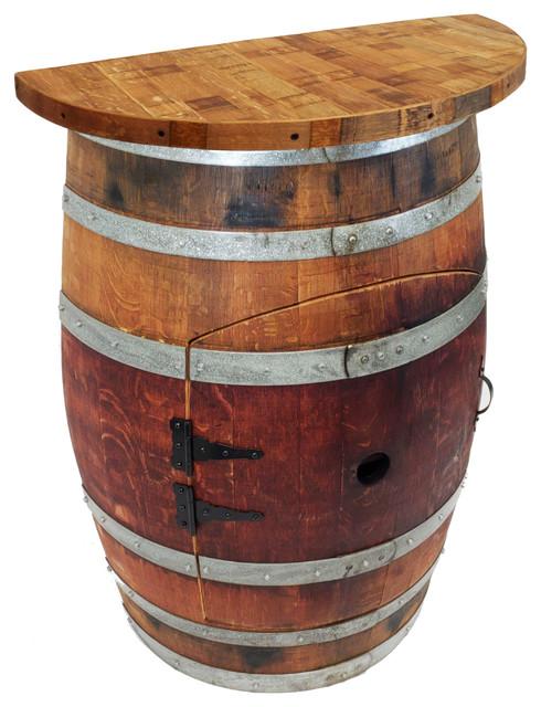 wine barrel wall wine bar wine barrel stave top