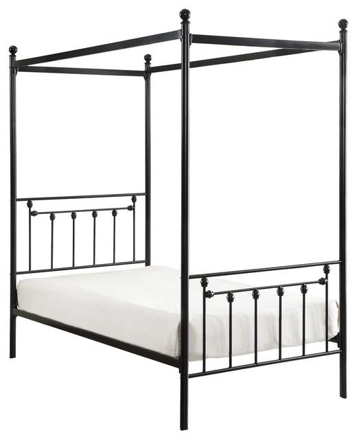 cameron canopy metal platform bed twin