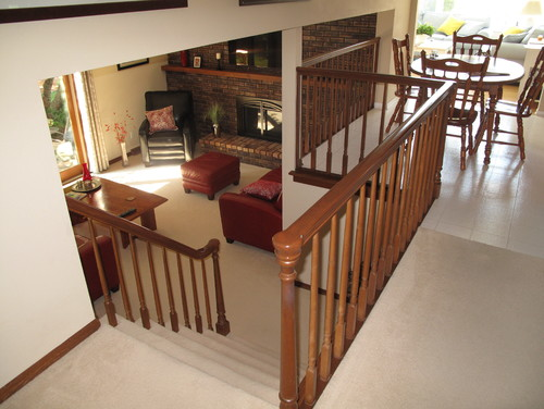 Image Result For How To Change Carpeted Stairs To Hardwood