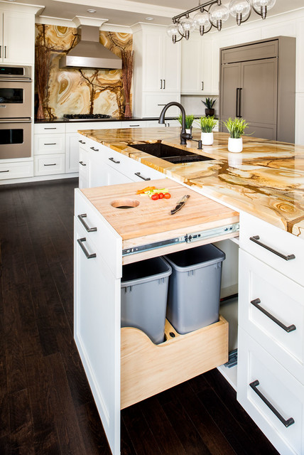 Kitchen in Sterling Road, Armonk transitional-kitchen