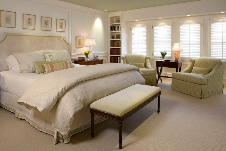 Traditional Master Bedroom Traditional Bedroom San Francisco By Alexandra Luhrs Interior Design