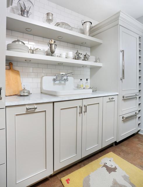 Chicago Condo Remodel transitional-kitchen