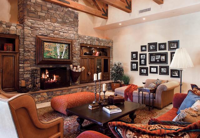 Italian Villa Stone Fireplace Coronado Stone Products