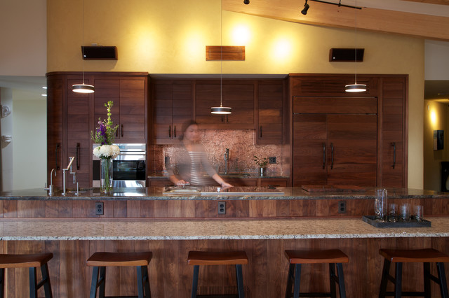 Earthship Farmstead Contemporary Kitchen By Kaplan Thompson Architects