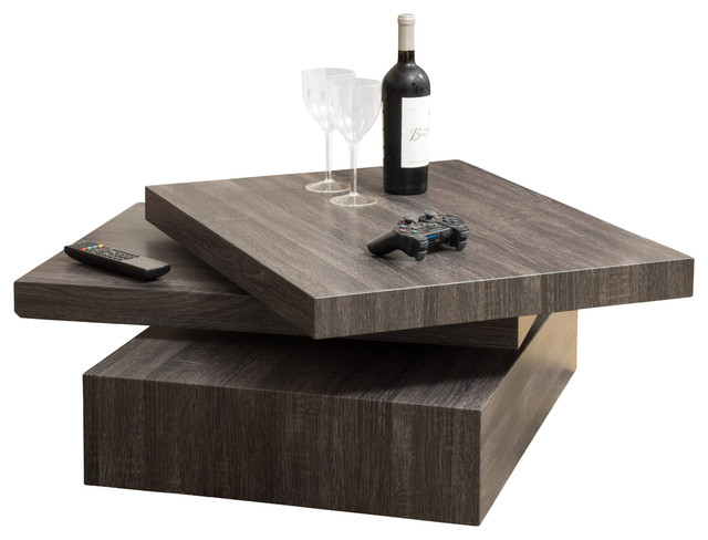 Haring Square Rotating Coffee Table & Reviews