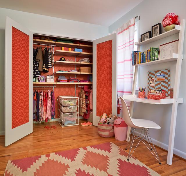 Somerset Renovation midcentury-bedroom
