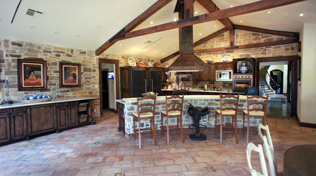 Rustic Farmhouse Kitchen Rustic Kitchen Other By