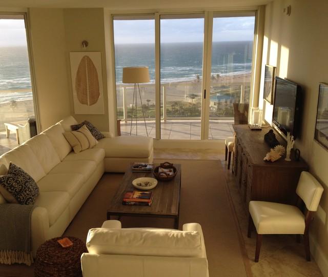 Florida condo living room decorating ideas for Condo interior design ideas living room